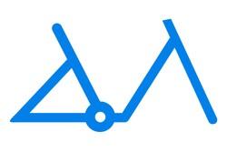 Rower elektryczny unisex rama jednorurowa