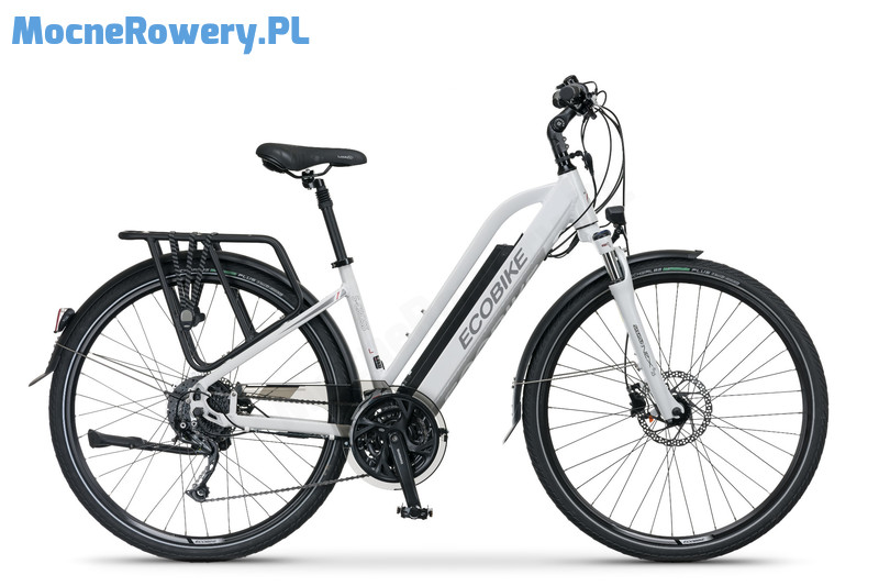 Ecobike S CROSS lady white