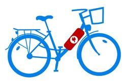 Rower elektryczny z akumulatorem w ramie